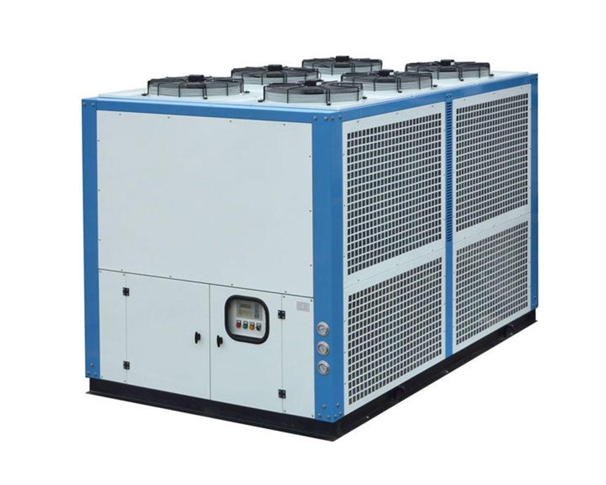 昆山风冷式箱型低温冷冻机组